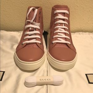 Gucci New and Authentic Monogram Sneakers Size 37